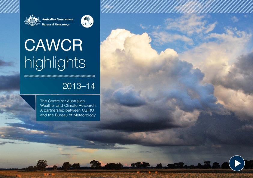 CAWCR_Highlights_2013-14-thumbnail